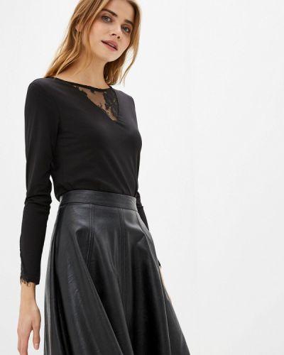 Блузка с длинным рукавом черная Savage