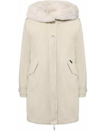 Куртка с капюшоном из кролика Woolrich