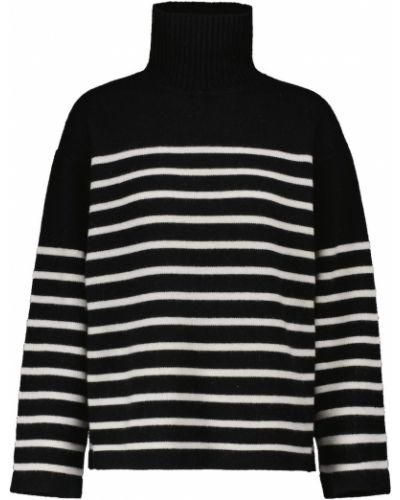 Czarny z kaszmiru sweter S Max Mara