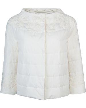 Стеганая куртка на кнопках облегченная Ermanno Scervino