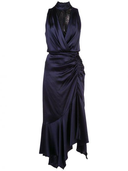 Платье миди со вставками с V-образным вырезом Jonathan Simkhai