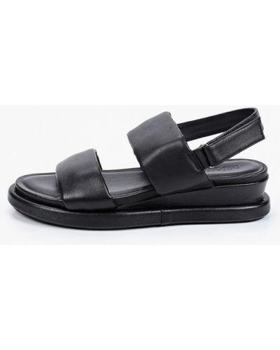 Кожаные босоножки - черные Inuovo