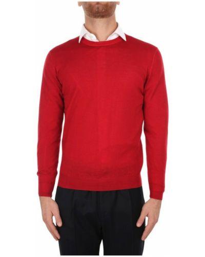 Czerwony sweter Fedeli