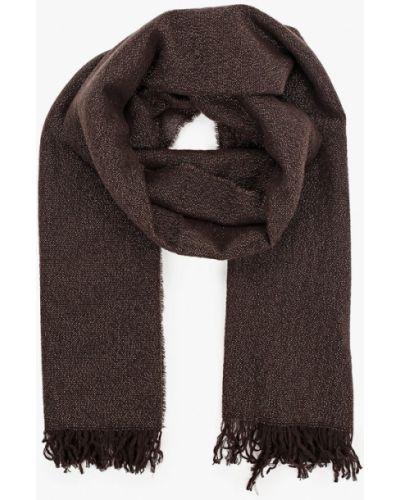 Коричневый шарф Falconeri