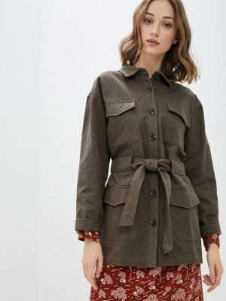 Зеленая облегченная куртка Blendshe