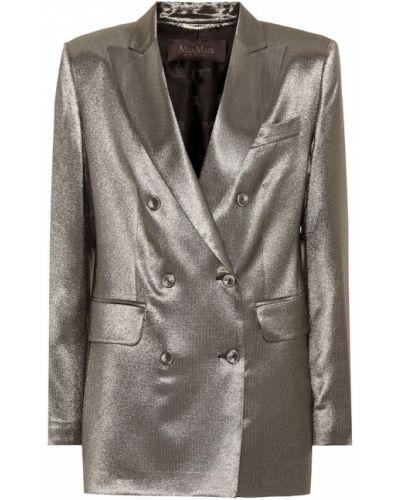 Однобортный пиджак золотой Max Mara