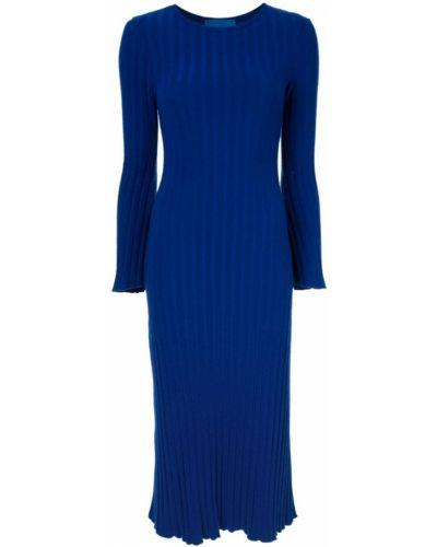 Платье в рубчик с длинными рукавами Simon Miller