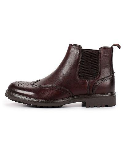 Коричневые весенние ботинки Thomas Munz