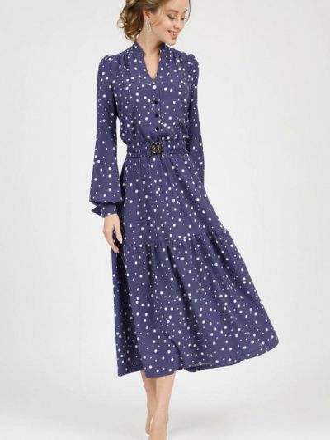 Повседневное платье - фиолетовое Marichuell