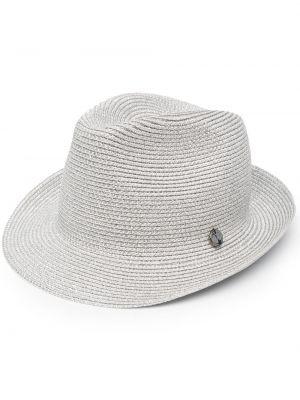 Серебряная шапка металлическая свободного кроя Catarzi