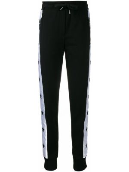 Sportowe spodnie z kieszeniami białe Dolce And Gabbana