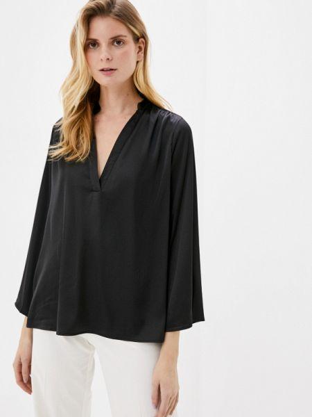 Блузка с длинным рукавом черная весенний By Swan
