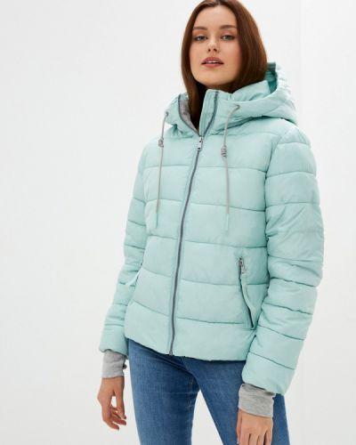 Бирюзовая утепленная куртка Zolla