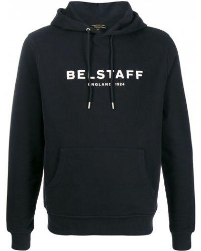 Bluza z kapturem z kapturem czarna Belstaff