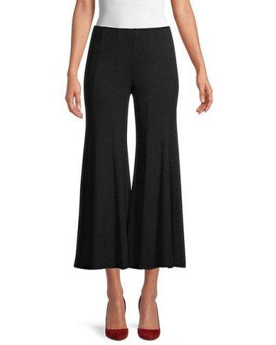 Czarne spodnie na co dzień rozkloszowane Bailey 44