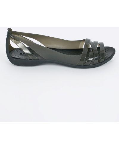 Балетки черные Crocs