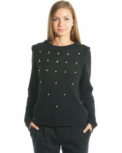 Черный свитер Patrizia Pepe
