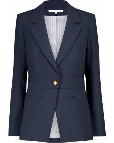 Деловой синий пиджак Veronica Beard