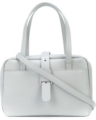 Biała torebka skórzana Senreve