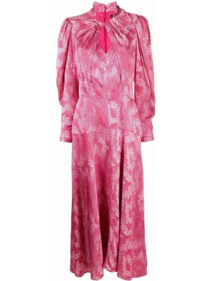Платье макси длинное - розовое Isabel Marant