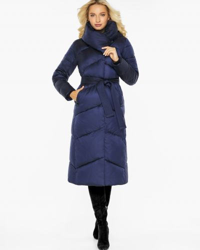 Куртка с капюшоном - синяя Braggart