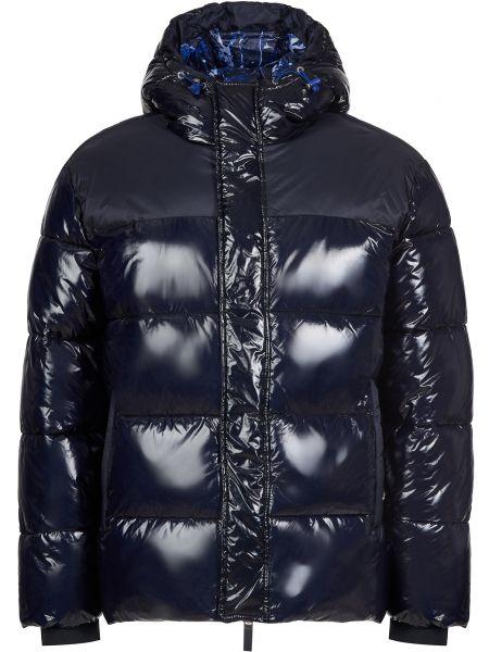 Куртка на молнии - синяя Armani Exchange