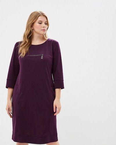 Фиолетовое повседневное платье Indiano Natural