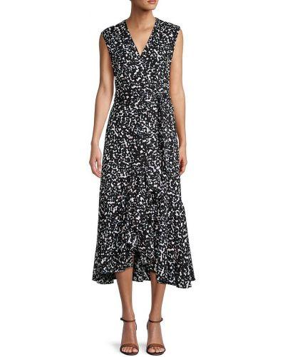 Черное платье с подкладкой Rebecca Minkoff