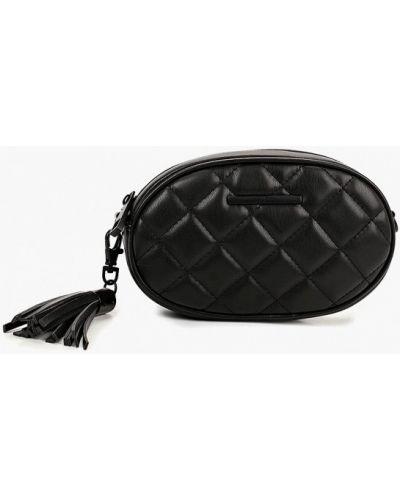 Кожаный сумка поясная черный Aldo