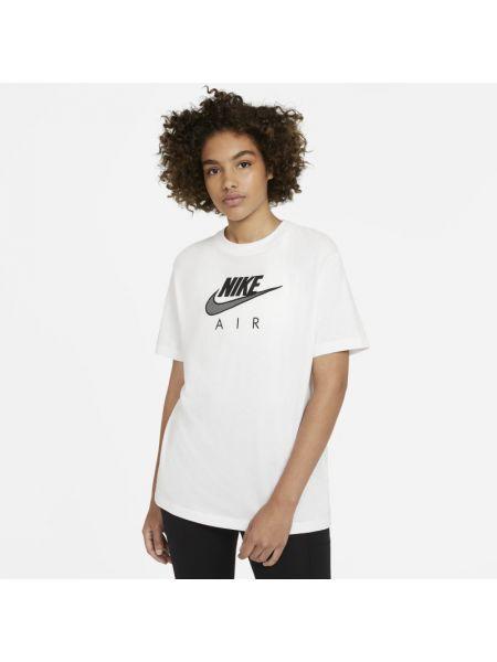 Światło t-shirt z aplikacjami Nike