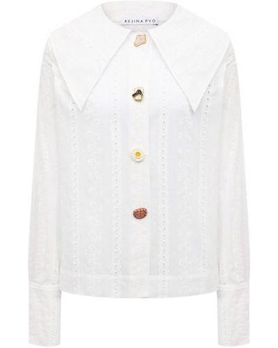 Кружевная рубашка - белая Rejina Pyo