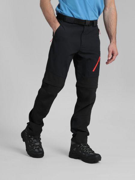 Spodnie materiałowe - czarne Mountain Warehouse