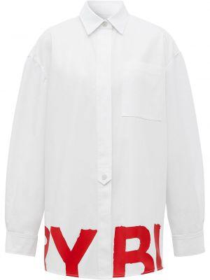 Klasyczna koszula, biały Burberry