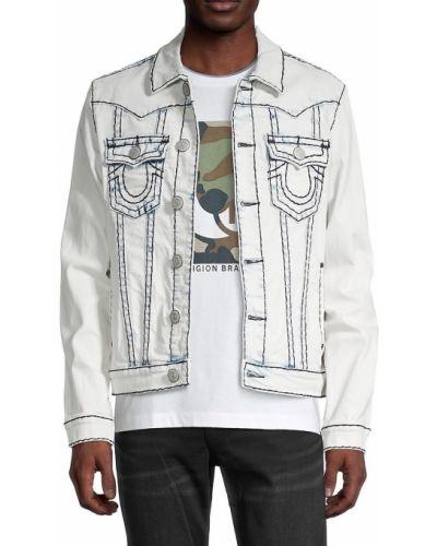 Хлопковая джинсовая куртка True Religion