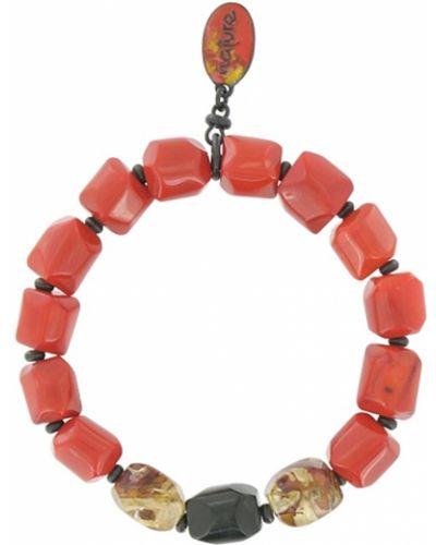 Красный браслет Nature Bijoux