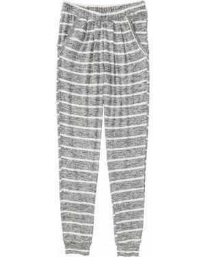 Брюки на резинке с карманами пижамные Bonprix