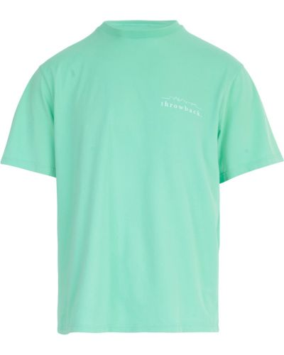 Zielona t-shirt Throwback