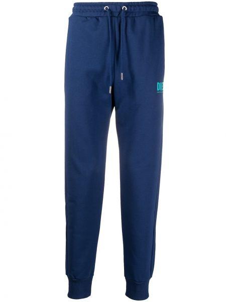 Bawełna bawełna niebieski spodnie Diesel