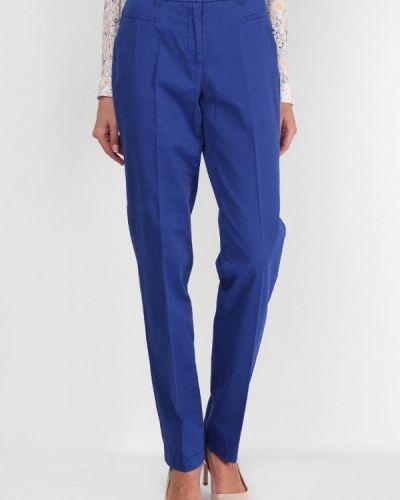 Классические брюки весенний синие Lagrand