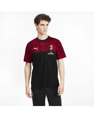 Спортивная футболка свободная с вышивкой Puma