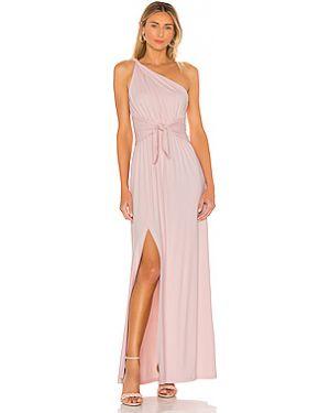 Вечернее платье через плечо нейлоновое Susana Monaco