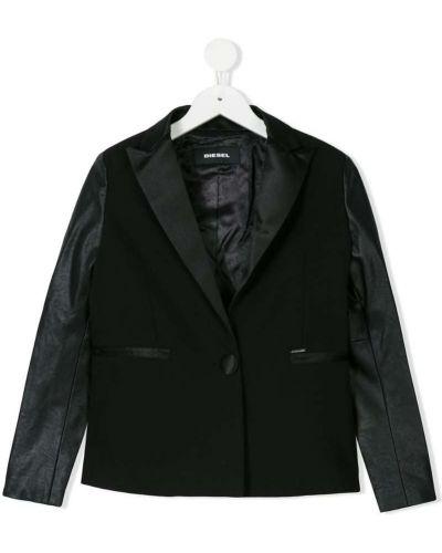 Пиджак с разрезом черный Diesel Kids