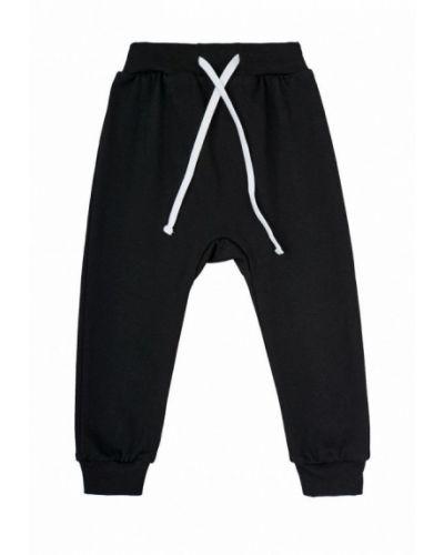 Черные брюки спортивные Garnamama