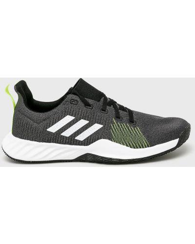 Кроссовки текстильные на шнуровке Adidas Performance