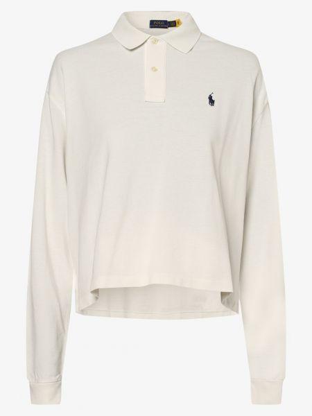 T-shirt - biała Polo Ralph Lauren
