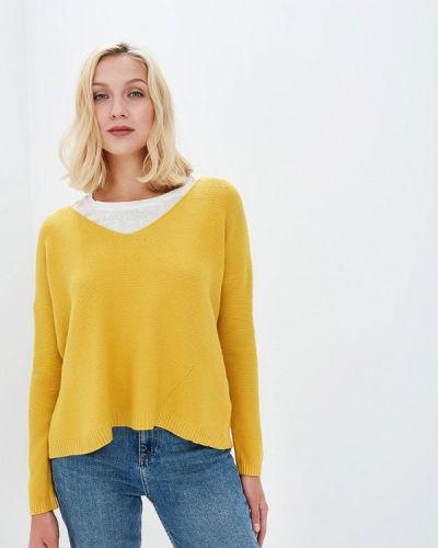 Желтый пуловер Sweewe