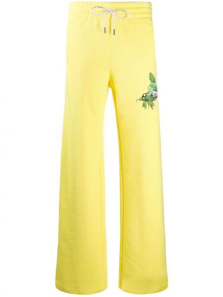 Спортивные брюки с завышенной талией с завязками Off-white