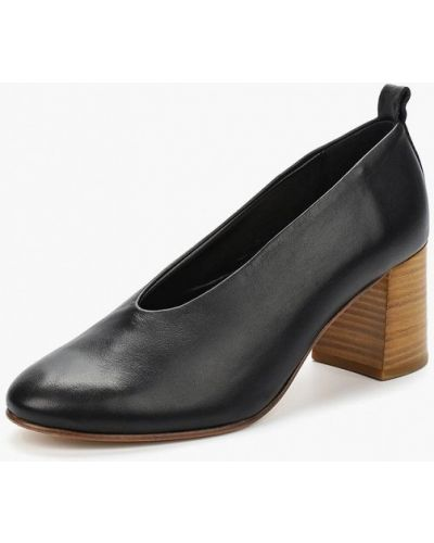 Кожаные туфли на каблуке Marc O'polo