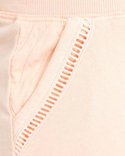 Домашние розовые хлопковые короткие шорты Pj Salvage