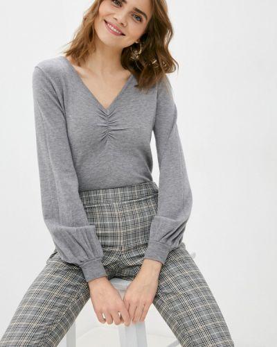 Серый пуловер B.style